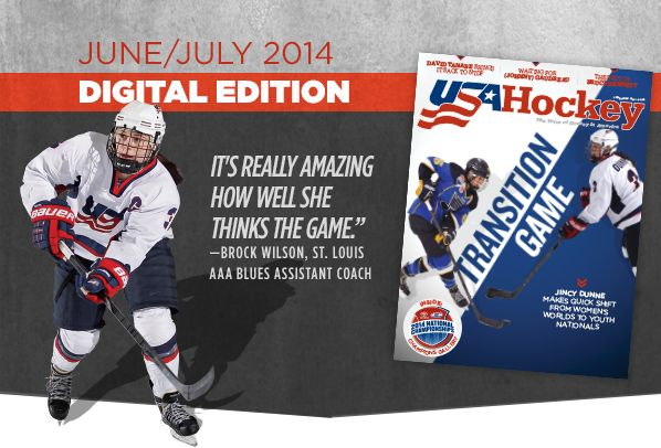 USA Hockey Magazin