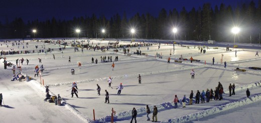 World Pond Hockey Tournament in Plaster Rock New Brunswick